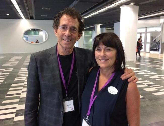 Jeffrey Zeig et Maryse Bénézet